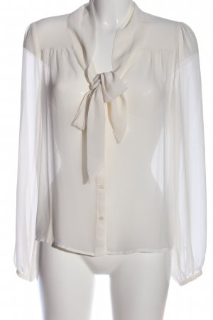 H&M Blusa trasparente bianco stile casual