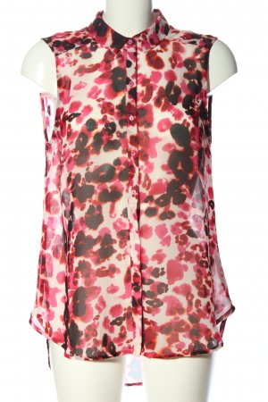 H&M Blouse transparente imprimé allover style décontracté