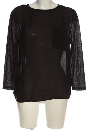 H&M Transparenz-Bluse braun Casual-Look