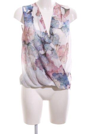H&M Transparenz-Bluse Blumenmuster Elegant