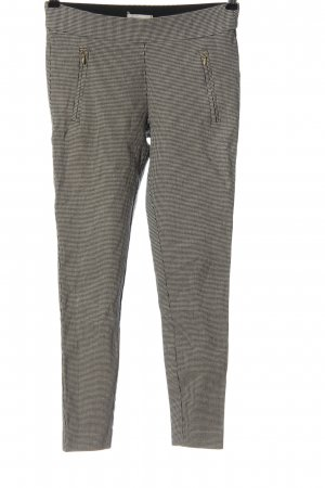 H&M Treggings schwarz-weiß Allover-Druck Casual-Look