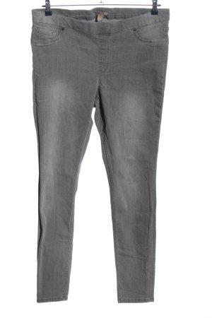 H&M Tregging gris clair style décontracté