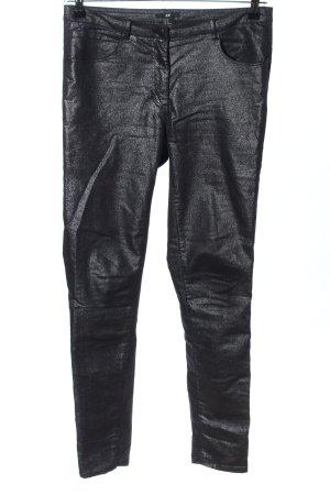 H&M Treggings black-silver-colored casual look