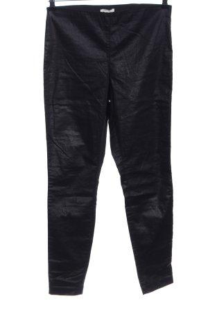 H&M Treggingsy czarny W stylu casual