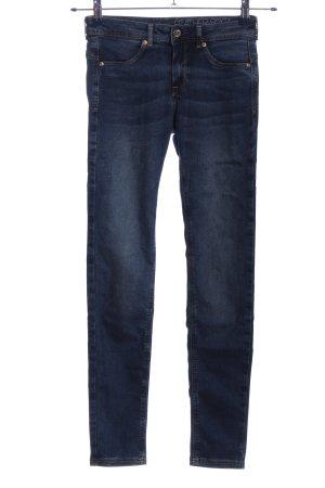 H&M Treggings azul look casual