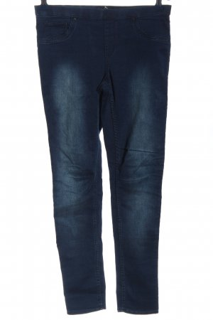 H&M Treggings blau Casual-Look