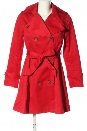 H&M Trench Coat red casual look