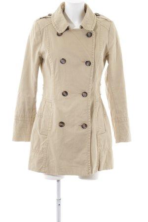 H&M Trenchcoat wolwit zakelijke stijl