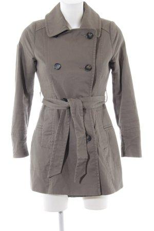 H&M Trenchcoat hellgrau Casual-Look