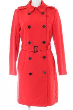 H&M Trenchcoat rot Business-Look