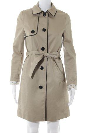 H&M Trenchcoat beige-zwart klassieke stijl