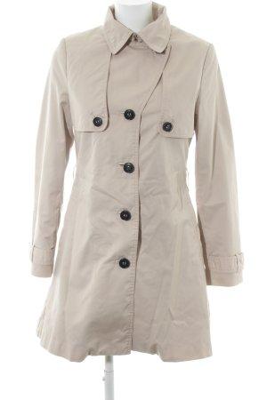 H&M Trenchcoat creme klassischer Stil