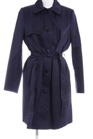 H&M Trenchcoat dunkelblau Business-Look