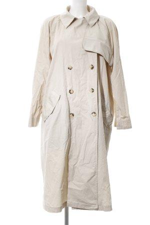 H&M Trenchcoat hellbeige klassischer Stil