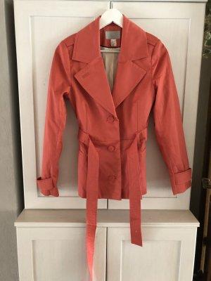 H&M Trenchcoat Pink Frühling Sommer Blogger S