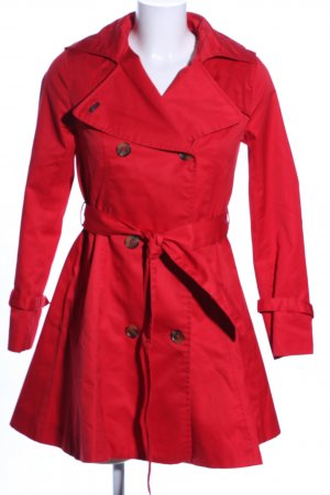 H&M Trenchcoat rouge style décontracté