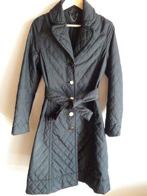 H&M. Trenchcoat. schwarz.