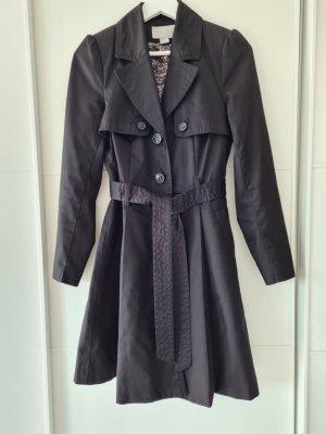 H&M Trenchcoat, schwarz, Gr.36, klassisch