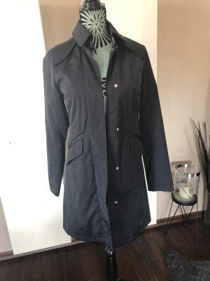 H&M Trenchcoat schwarz Gr. xs 34 Mantel Jacke
