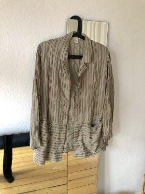 H&M Trend Blazer Bluse Streifenmuster Retro / Vintage / 70iger Jahre Stil