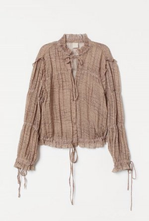 ❤️ H&M TREND Bluse Gr. XS Rose Muster Print ❤️