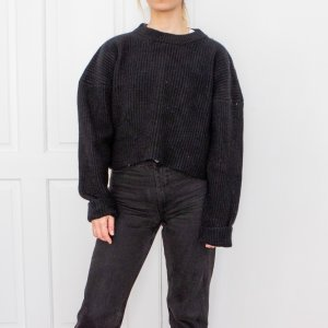 H&M Trend Boxy Strickpullover Gr. XS