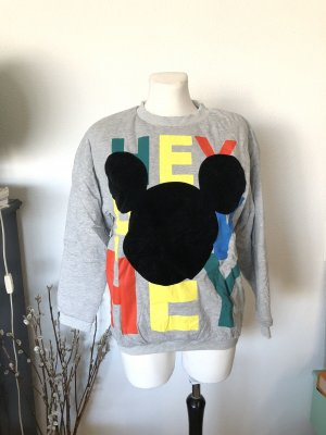 H&M Trend Disney Mickey Mouse Sweatshirt 38 grau
