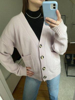 H&M Trend Wełniany sweter jasny różowy