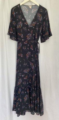 H&M Trend Robe portefeuille multicolore viscose