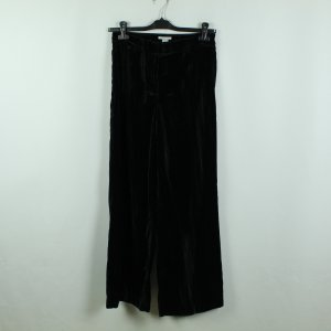 H&M Pantalon Marlene vert foncé polyester