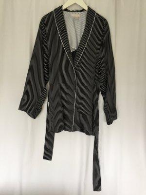 H&M Trend Streifen-Blazer im Kimono-Stil Gr. 40