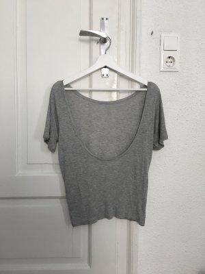 H&M Trend Tshirt mit Rückenausschnitt Gr. 34 (/36)