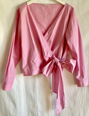 H&M Trend Wickelbluse Gr. 40
