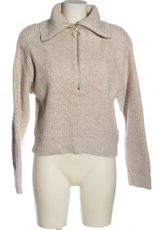 H&M Troyer creme meliert Casual-Look