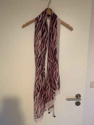 H&M Apaszka biały-purpurowy