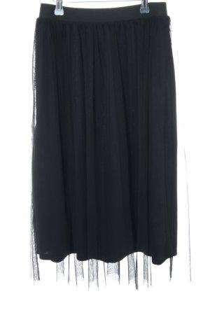 H&M Falda de tul negro elegante