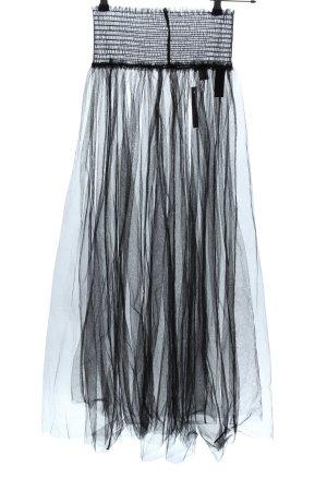 H&M Tüllrock schwarz Elegant