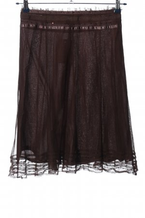 H&M Tulle Skirt brown casual look