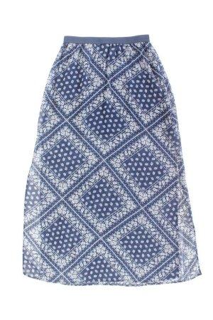 H&M Tiulowa spódnica niebieski-niebieski neonowy-ciemnoniebieski-błękitny