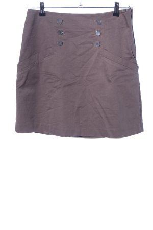 H&M Tulip Skirt brown casual look
