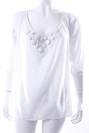 H&M Tunika-Shirt weiß