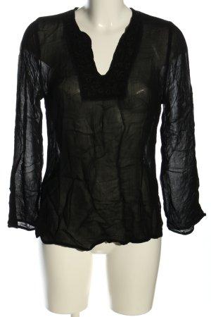 H&M Tunique-blouse noir style décontracté