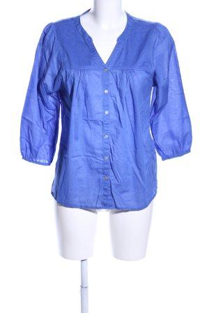 H&M Tunikabluse blau Business-Look