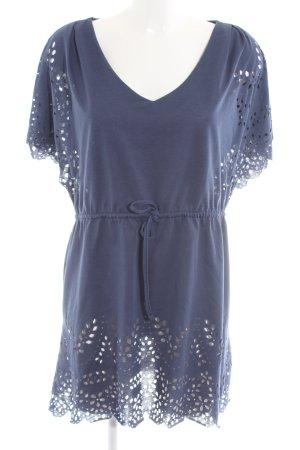 H&M Tunikabluse blau Casual-Look
