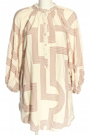 H&M Tunic Blouse striped pattern casual look