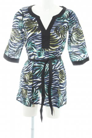 H&M Tunikabluse grafisches Muster Beach-Look
