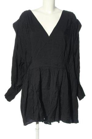 H&M Tunikakleid schwarz Casual-Look