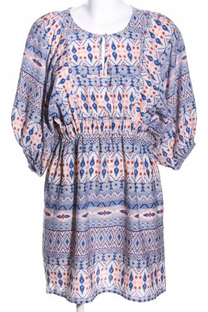 H&M Tunikakleid grafisches Muster Casual-Look