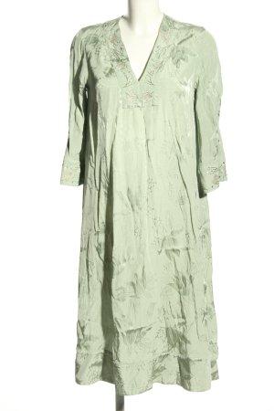 H&M Tunikakleid grün Allover-Druck Casual-Look
