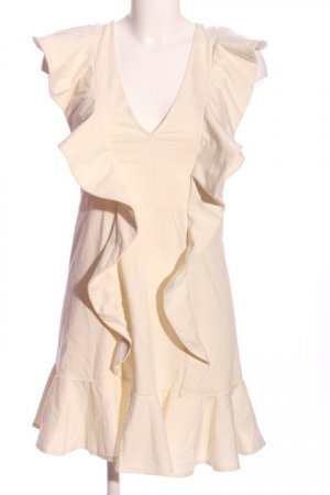 H&M Tunikakleid creme Elegant
